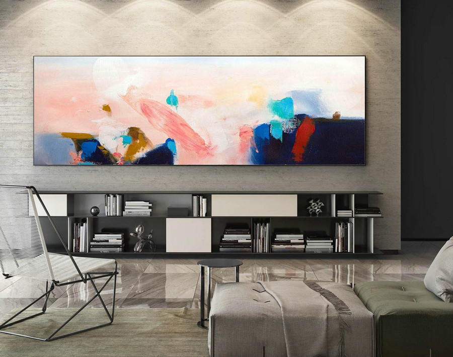 Extra Large Wall art - Abstract Painting on Canvas, Contemporary Art, Original Oversize Painting XaS239