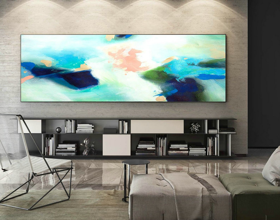 Extra Large Wall art - Abstract Painting on Canvas, Contemporary Art, Original Oversize Painting XaS230