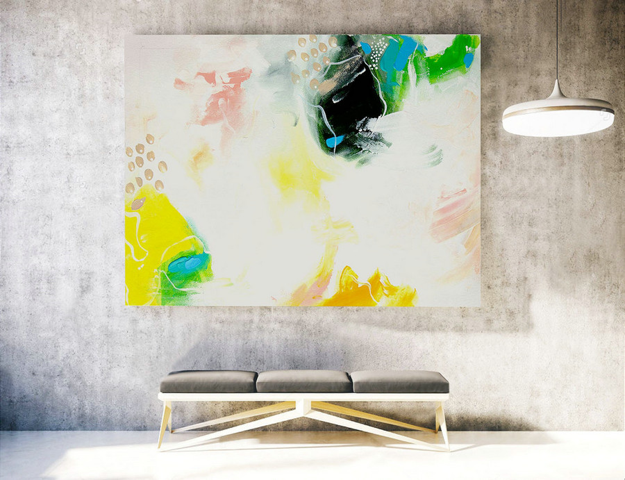 Original Large Abstract Painting,Abstract Canvas Art,Contemporary Art Modern Oil Painting ,Large Painting Original,Large Canvas Art LAS052