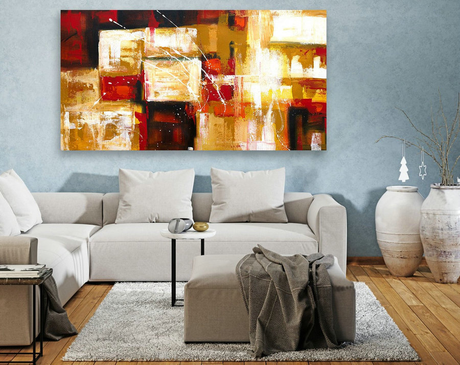 Original Large Abstract Painting,Abstract Canvas Art,Contemporary Art Modern Oil Painting ,Large Painting Original,Large Canvas Art LAS103