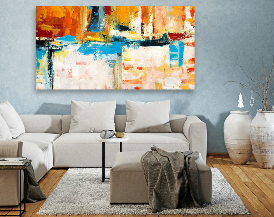 Original Large Abstract Painting,Extra Large Wall Art ,Modern Home Decor,Large Painting On Canvas,Abstract Wall Art,Contemporary Art LAS116