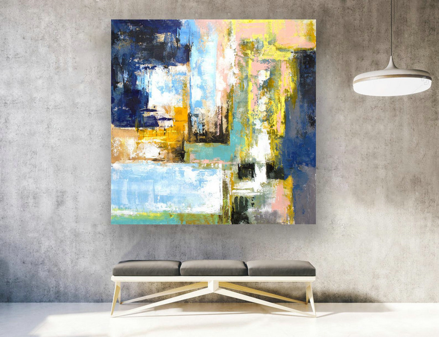 Original Large Abstract Painting,Abstract Canvas Art,Contemporary Art Modern Oil Painting ,Large Painting Original,Large Canvas Art LAS124