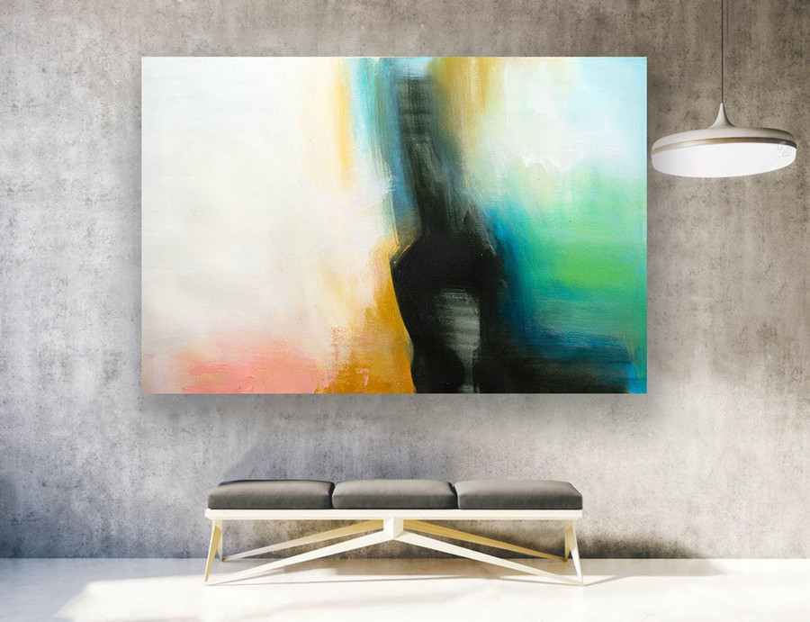 Extra Large Wall Art, Contemporary Art, Large Original Painting On Canvas, Modern Wall Art,Modern Home Decor,Abstract Canvas Art,XXXl LAS220