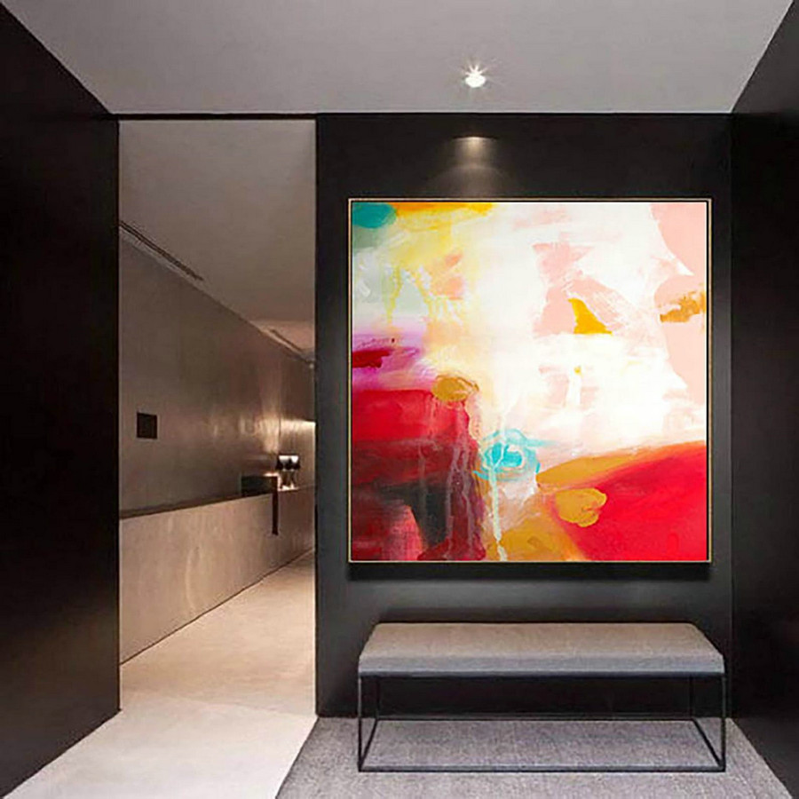 Large Modern Wall Art Painting,Large Abstract wall art,painting original,large abstract painting,best wall art,home wall decorating LaS298