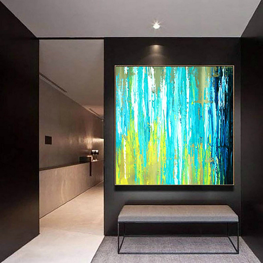 Abstract Painting on Canvas - Extra Large Wall Art, Contemporary Art, Original Oversize Painting LaS315