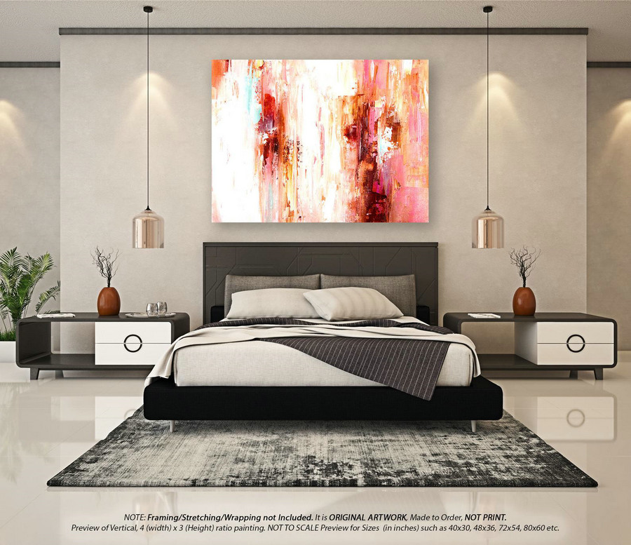 Oversized Paintings Large Abstract Art - Modern Abstract Painting, Original Paintings on Canvas, Original Oil Painting, Office D??corYNS171