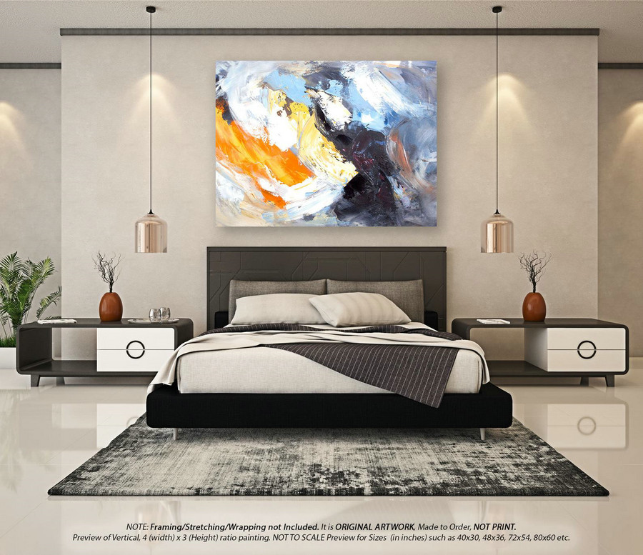 Extra Large Abstract Painting Abstract wall art - Original Paintings, Office Decor, Original Paintings on Canvas, Large Abstract ArtYNS132