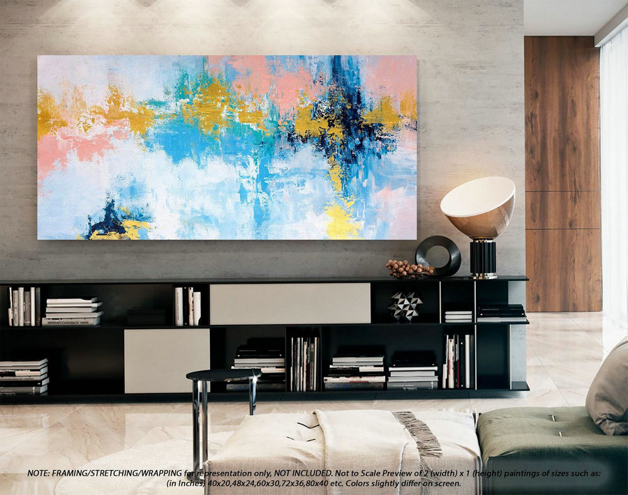 Textured Abstract Painting Extra Large Wall Art - Office Decor, Original Paintings, Original Oil Painting, Modern Abstract Painting DMS080