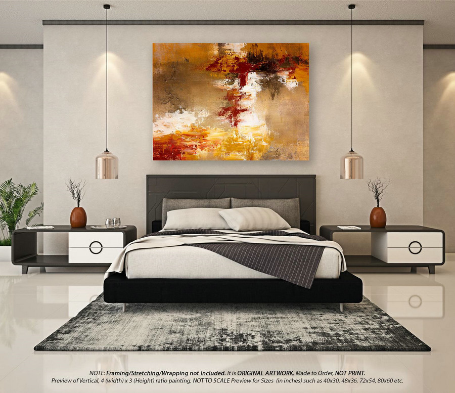 Large Abstract Painting Wall art decor - Large wall art, Oversized Paintings on Canvas, Abstract Painting on canvas, Wall Art D??cor DMS095