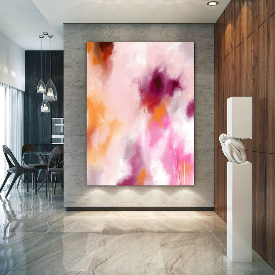 Original Painting,Painting on Canvas Modern Wall Decor Contemporary Art, Abstract Painting Pac452