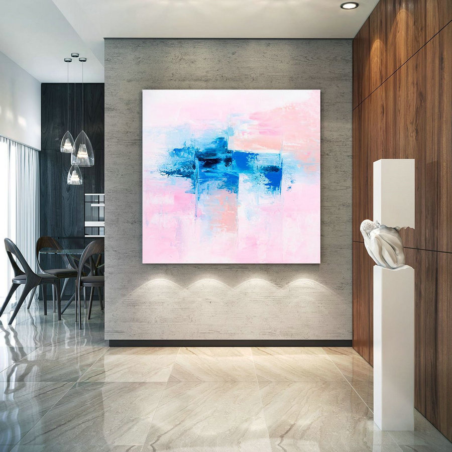 Extra Large Wall Art Original Art Bright Abstract Original Painting On Canvas Extra Large Artwork Contemporary Art Modern Home Decor lac662