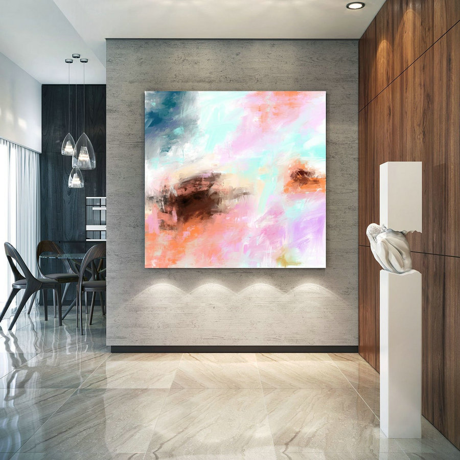 Abstract Canvas Art Extra Large Artwork Original Painting,Painting on Canvas Modern Wall Decor Contemporary Art, Abstract Painting Pac364