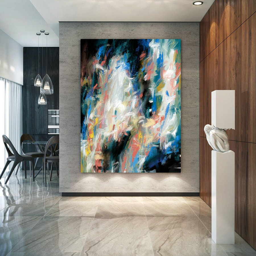 Extra Large Wall Art Textured Painting Original Painting,Painting on Canvas Modern Wall Decor Contemporary Art, Abstract Painting PaC406