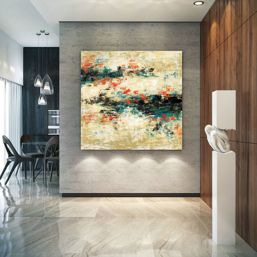 Original Painting,Painting on Canvas Modern Wall Decor Contemporary Art, Abstract Painting PaC484