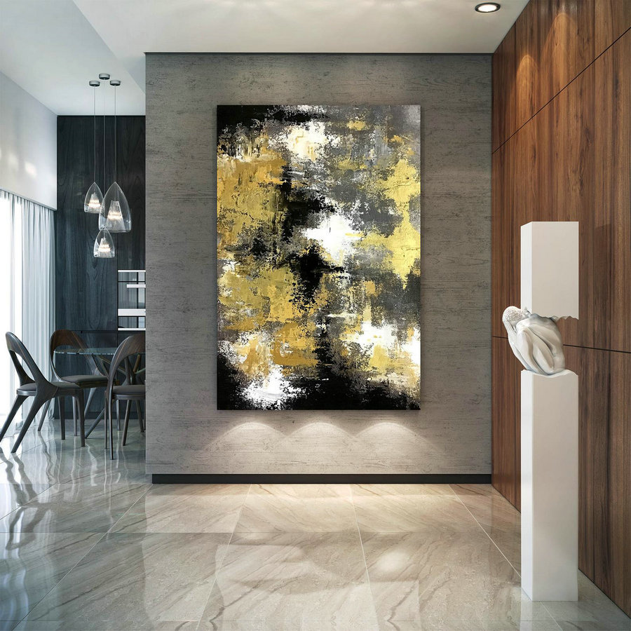 Large Abstract Painting,Large Abstract Painting on Canvas,oil hand painting,abstract originals,livingroom decor DIc041
