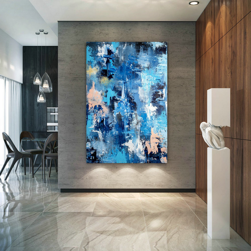 Large Abstract Painting,original painting,large interior art,modern abstract,original textured DIc005