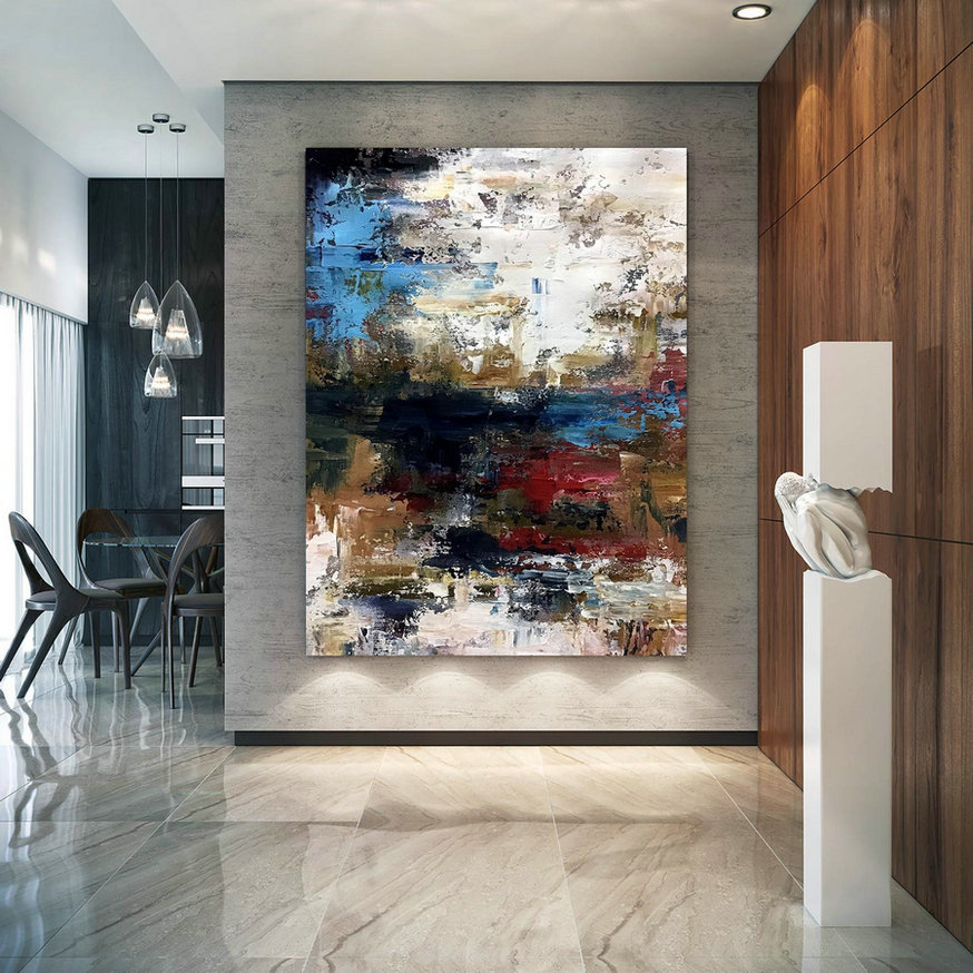 Large Abstract Painting,Modern abstract painting,original painting,large canvas art,xl abstract painting,art with texture D2c035