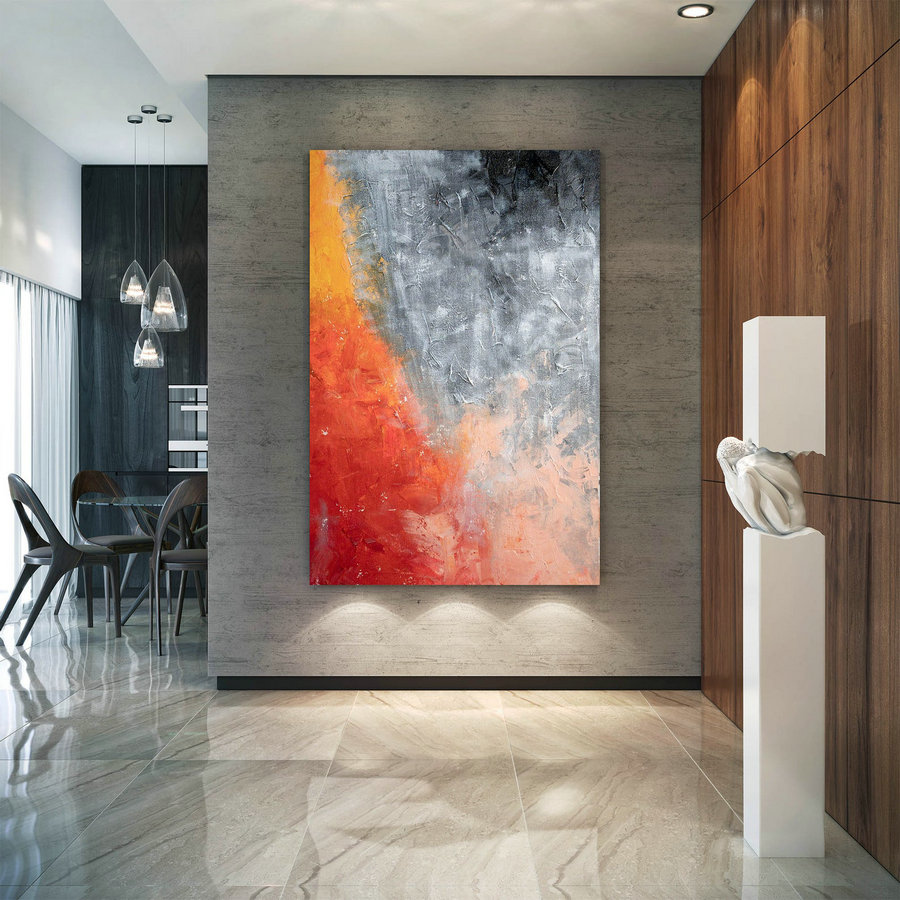 Large Abstract Painting,Modern abstract painting,oil hand painting,living room wall art,modern abstract,texture wall art DIc013