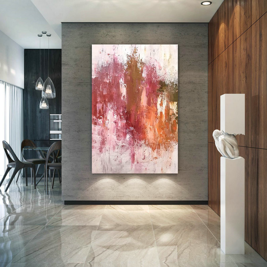 Large Abstract Painting,oil hand painting,abstract painting,extra large wall art,abstract texture art D2c004
