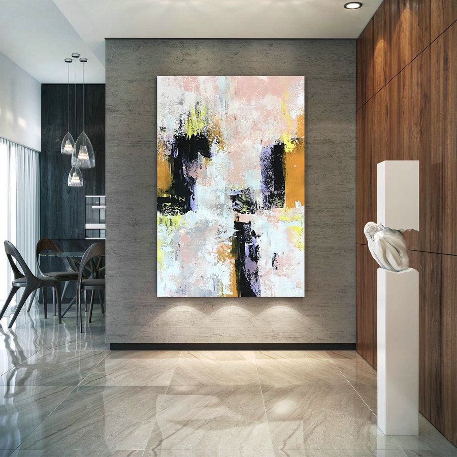 Large Abstract Painting,Modern abstract painting,painting original,canvas custom art,xl abstract painting,textures painting BNc104
