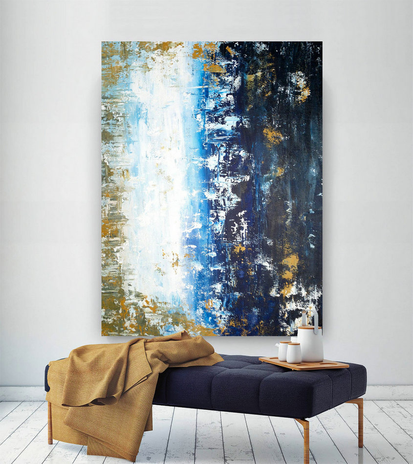 Large Painting on Canvas,Original Painting on Canvas,painting wall art,original abstract,abstract canvas art BNc037