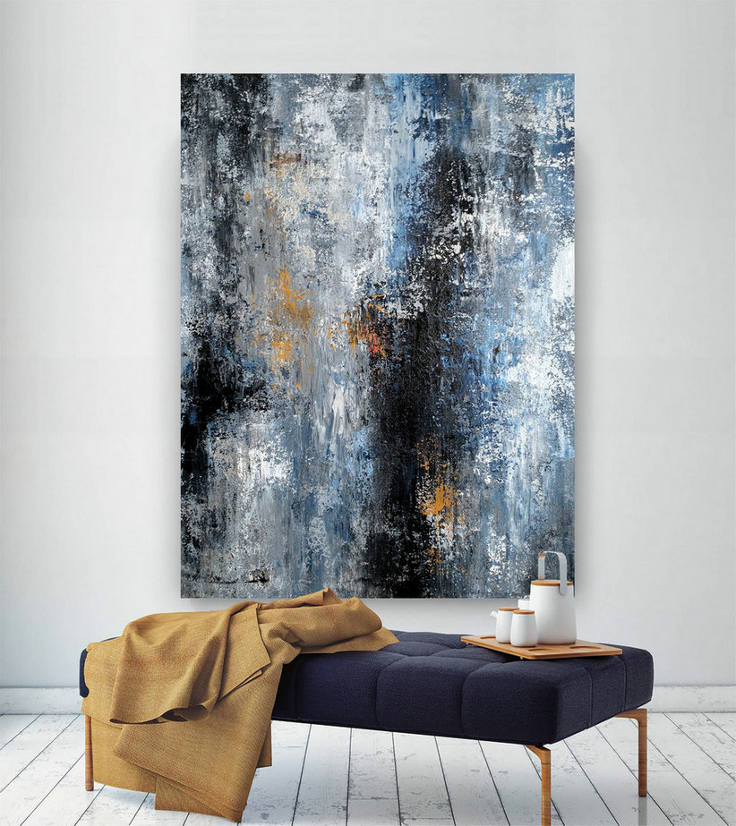 Original Extra Large Wall Art,Original Abstract wall art,canvas art original,painting for home,home decor wall art BNc033