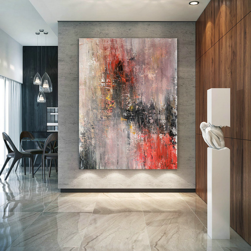 Large Abstract Painting,painting wall art,original abstract,large interior art,acrylic textured art BNc031