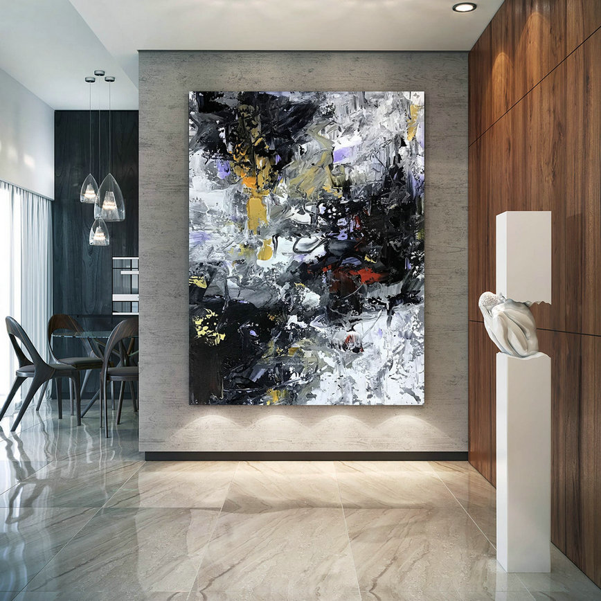 Large Abstract Painting,Modern abstract painting,texture art painting,large oil art,large abstract art,textured painting BNc095
