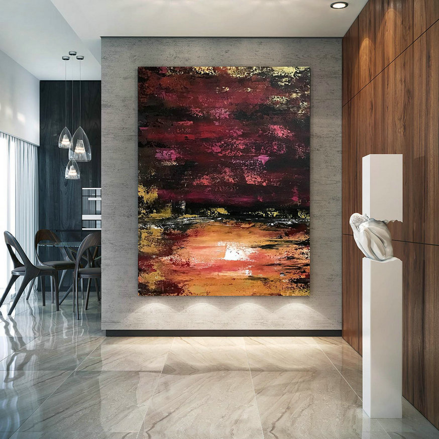 Large Abstract Painting,Modern abstract painting,painting for home,huge canvas art,xl abstract painting,textured paintings B2c006