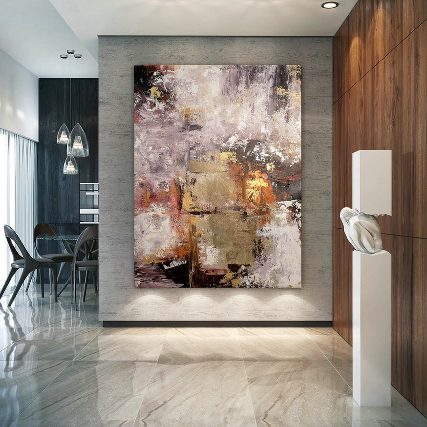 Large Abstract Painting on Canvas,Large Painting on Canvas,painting home decor,canvas large,livingroom decor art BNc059