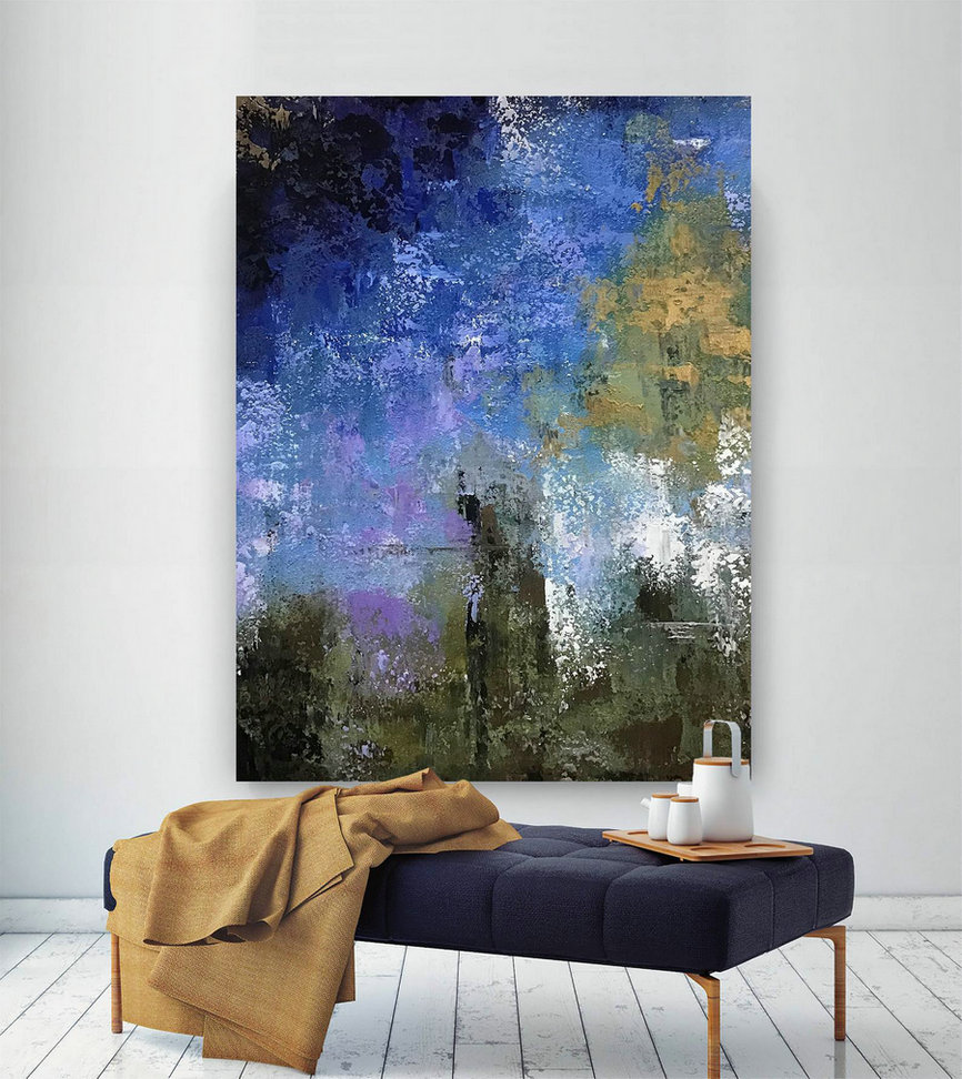 Extra Large Painting - Modern Art, Large Artwork, Abstract Canvas Art, Original Painting on Canvas Wall Art, Contemporary Art #B2c020
