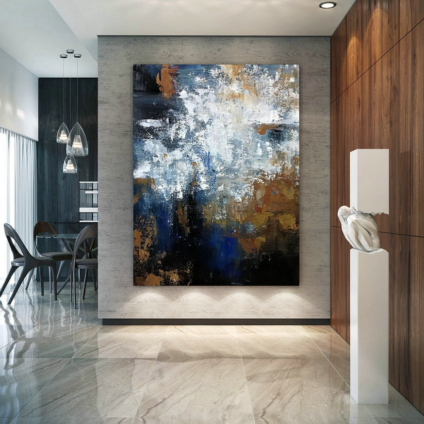 Large Modern Wall Art Painting,square painting,canvas wall art,oil canvas art,textured art B2c014