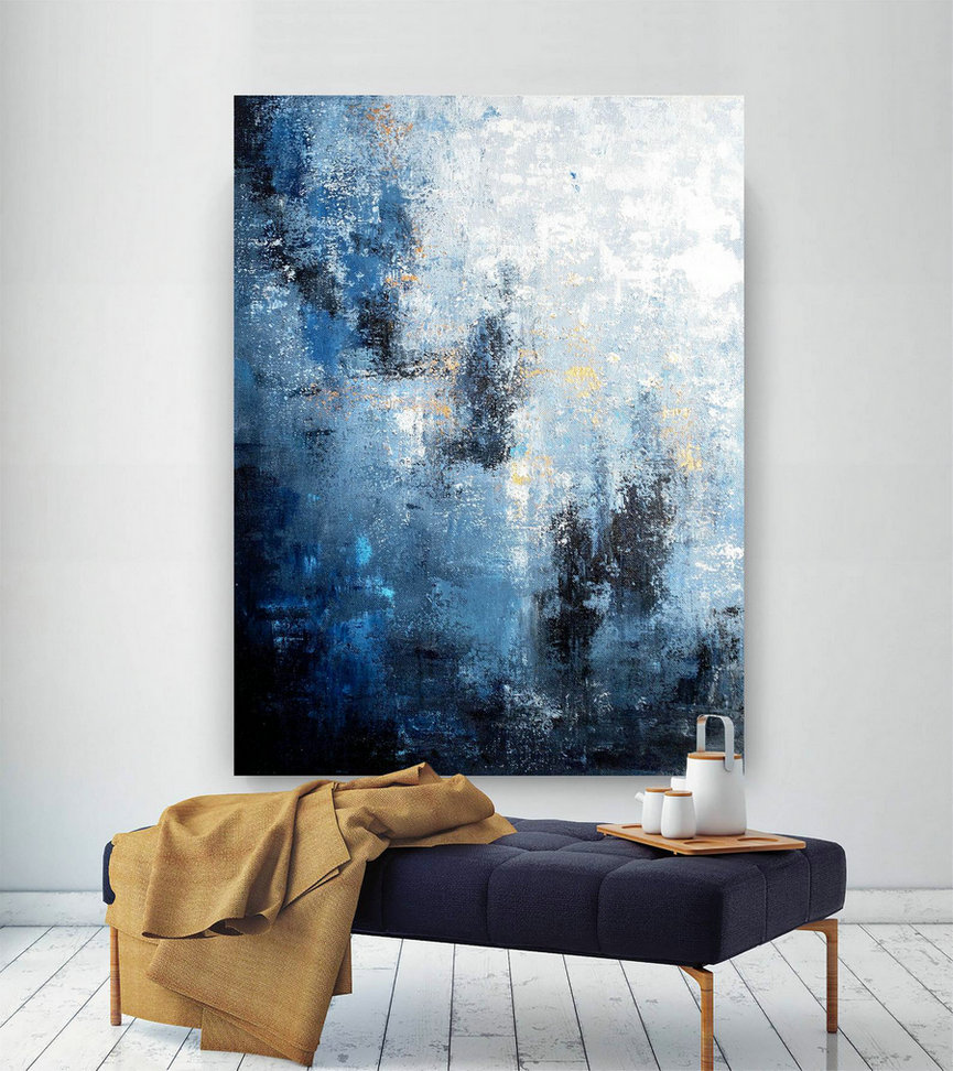 Large Abstract Painting,Modern abstract painting,square painting,huge canvas art,xl abstract painting,textured art BNc021