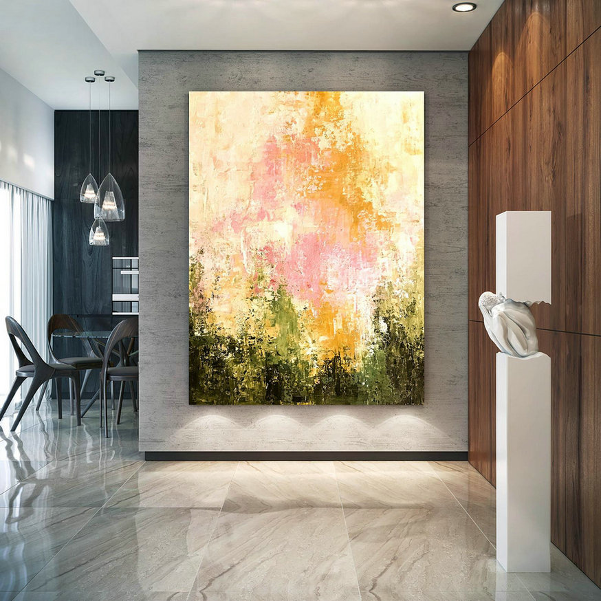 Large Painting on Canvas,Extra Large Painting on Canvas,large canvas art,huge canvas painting,oil large painting D2c011