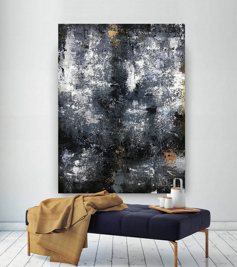 Large Abstract Painting,Modern abstract painting,bright painting art,painting on canvas,abstract painting,abstract texture art B2c001