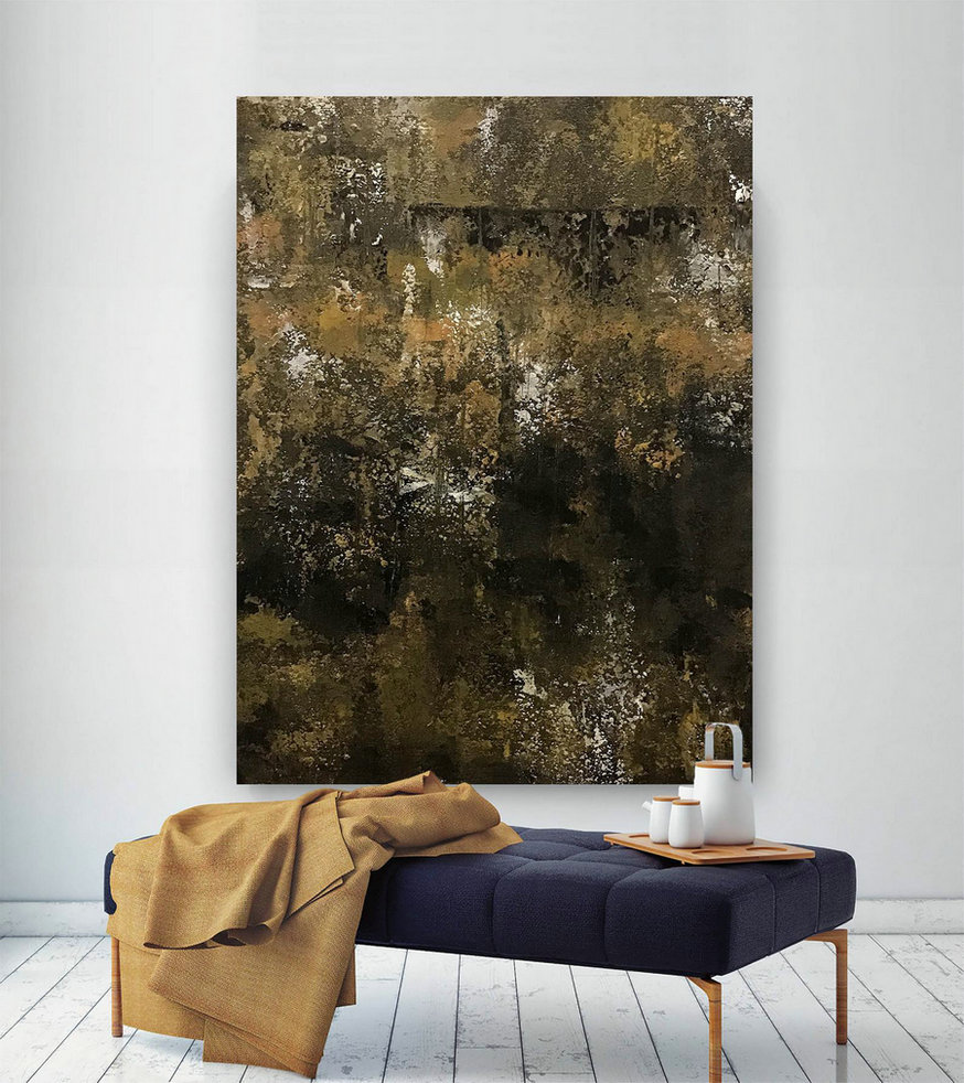 Large Abstract Painting,Modern abstract painting,painting home decor,artwork D2splay,acrylic abstract,original textured B2c017