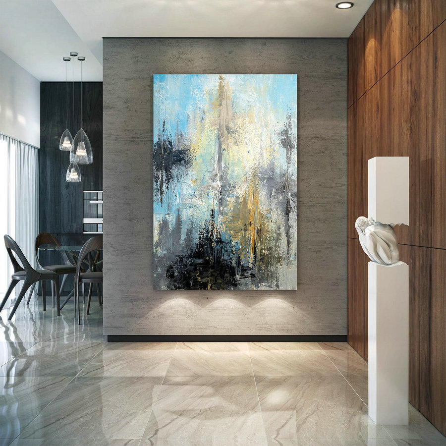 Large Modern Wall Art Painting,Large Abstract wall art,huge canvas painting,original abstract,best wall art,abstract texture art DIc025