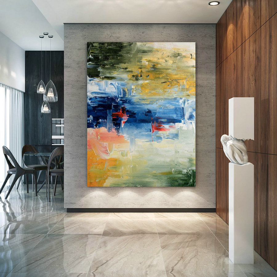 Large Abstract Painting,Modern abstract painting,painting original,large wall art,acrylic abstract,textured art DIc008