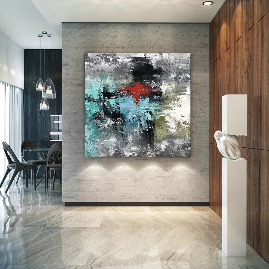 Large Original Abstract Painting - Modern Art, Living Room Decor, Paintings on Canvas, Wall Art, Original Painting,Office Decor D2c034