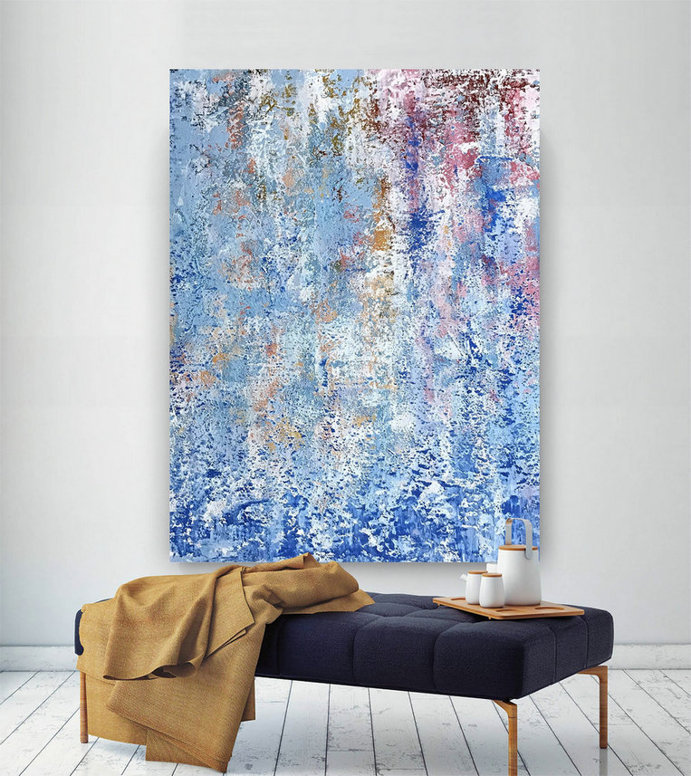 Large Abstract Painting,Modern abstract painting,painting wall art,large wall art decor,colorful abstract,abstract texture art DIc034
