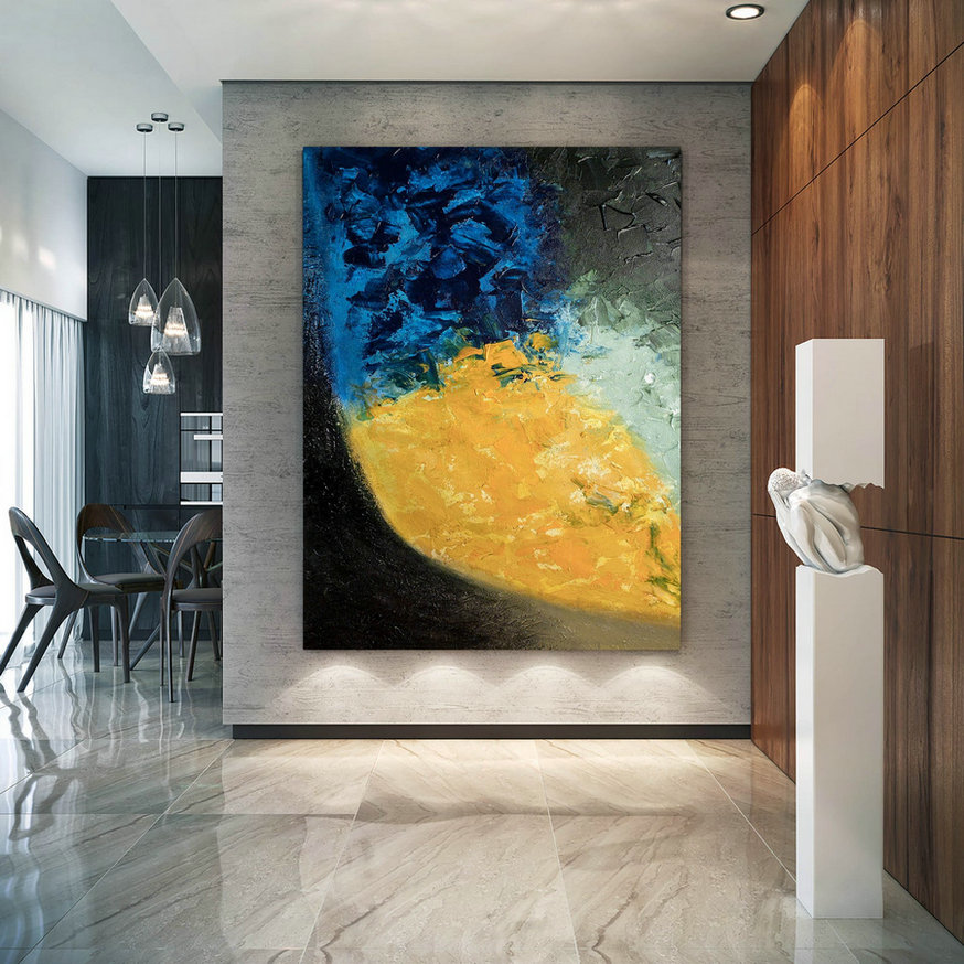 Large Modern Wall Art Painting,Large Abstract Painting,painting wall art,large wall art,extra large wall art DIc012