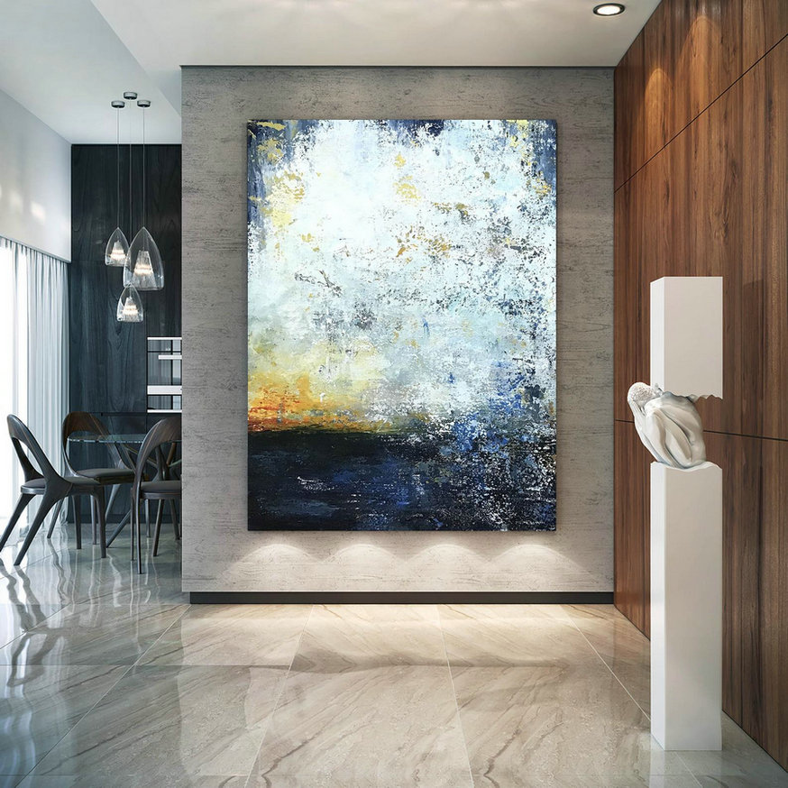 Large Abstract Painting,Modern abstract painting,oil hand painting,oil knife painting,xl abstract painting,textured art BNc107