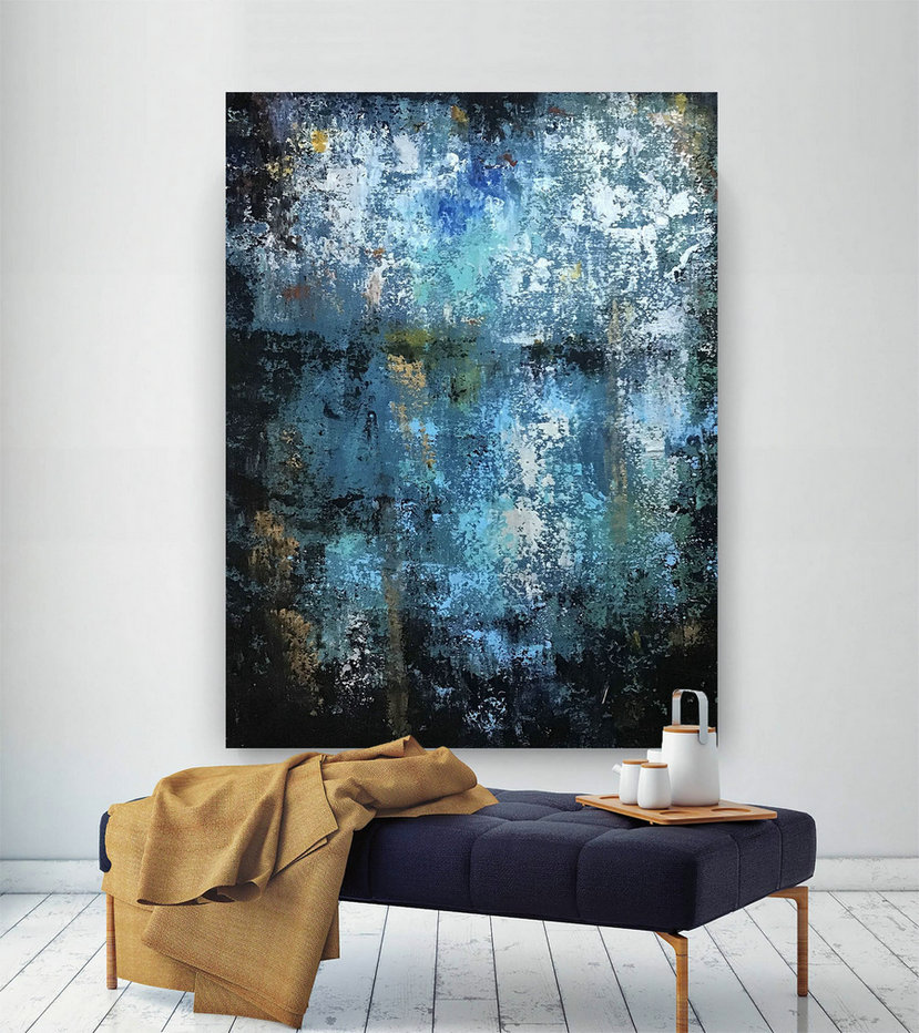 Large Abstract Painting on Canvas,Large Painting on Canvas,original painting,canvas large,oil canvas art,acrylic textured BNc105