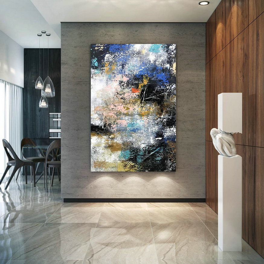 Large Painting on Canvas,Original Painting on Canvas,original painting,abstract painting,painting on canvas,abstract texture art BNC076