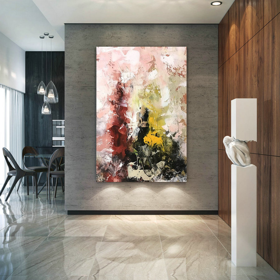 Large Painting on Canvas,Original Painting on Canvas,painting for home,acrylic abstract,huge canvas art,modern textured D2c016