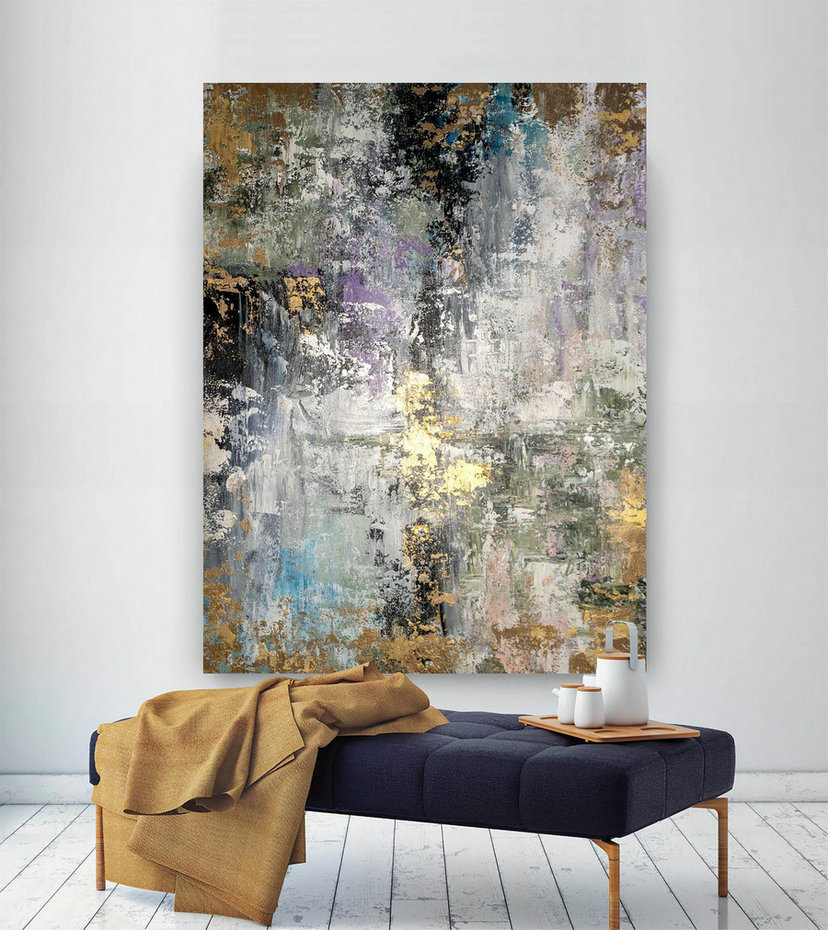 Large Abstract Painting,Original Painting Large Paintings,livingroom decor,original painting,large modern canvas BNc052