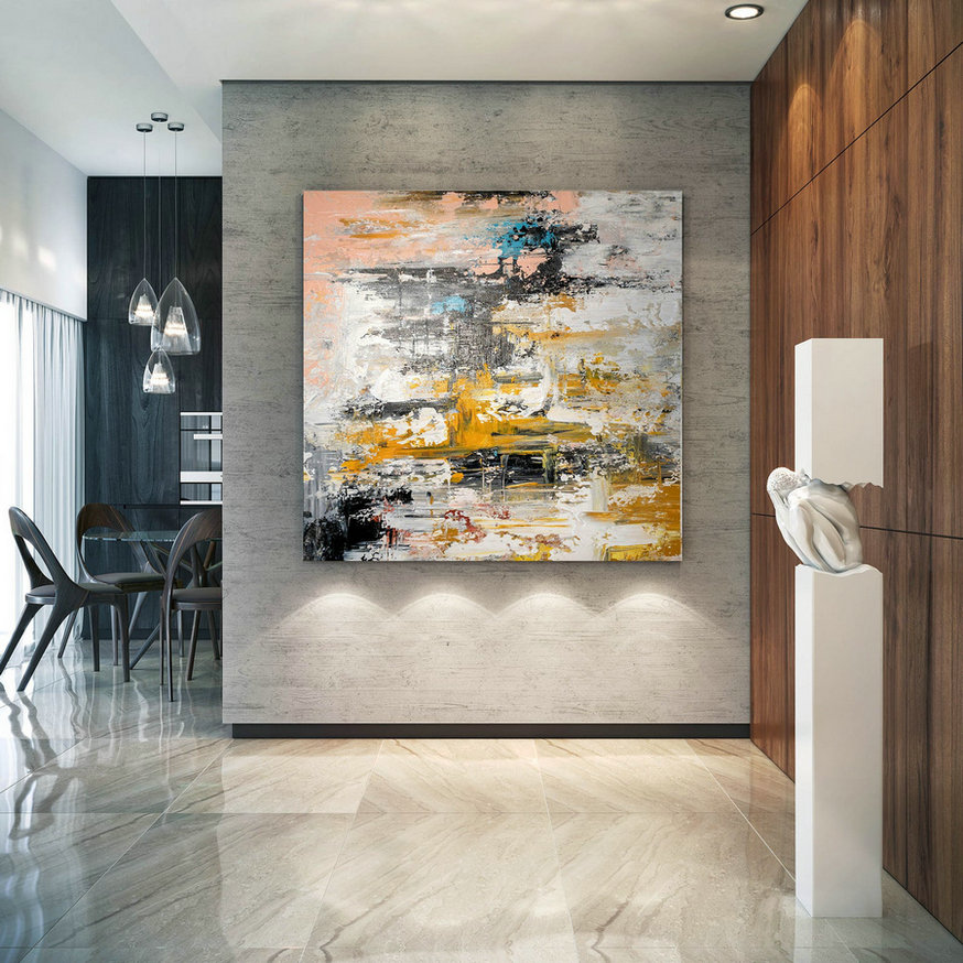Large Modern Wall Art Painting,Large Abstract wall art,painting home decor,large abstract art,wall art canvas BNc050