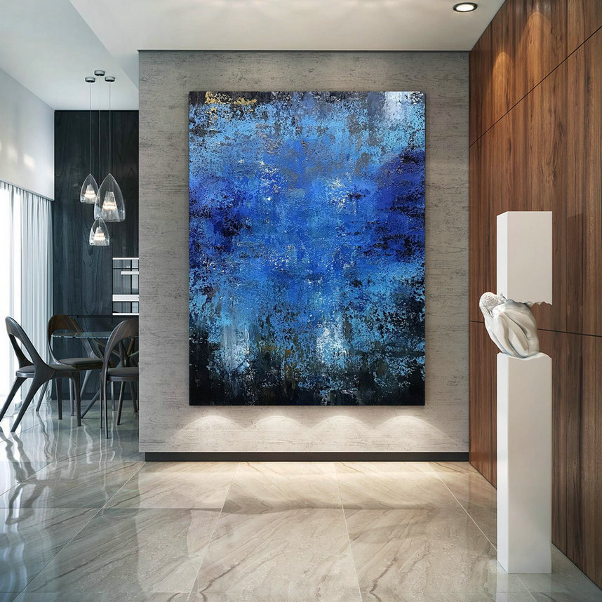 Large Modern Art - Original Painting on Canvas , Abstract Art, Home Decor Wall Art, Oil Painting, Large Artwork, Extra large Painting B2C022