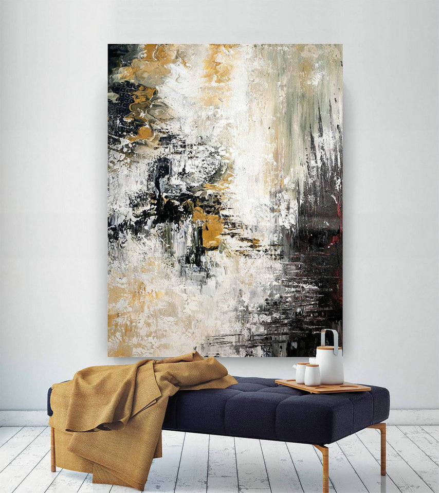 Large Modern Wall Art Painting,Large Abstract Painting on Canvas,oil hand painting,painting canvas art,best wall art BNc064