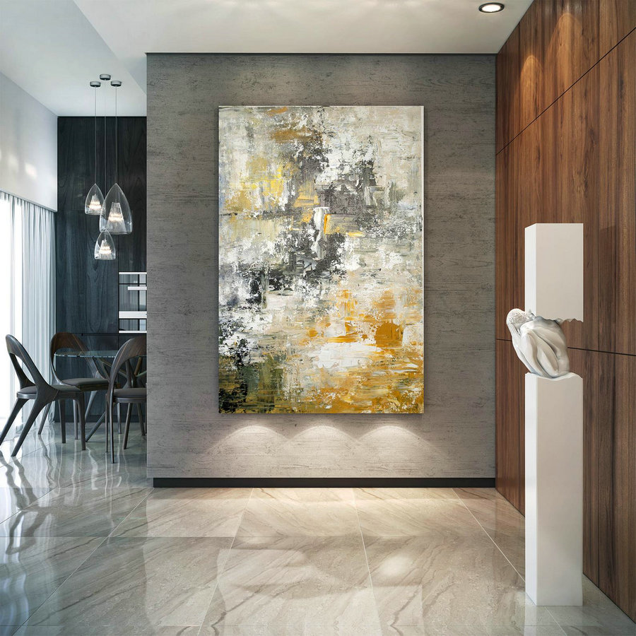Large Abstract Painting,Modern abstract painting,unique painting art,home decor wall art,abstract originals,textured painting BNc044